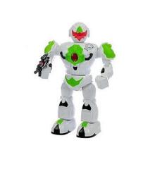 Robot česky mluvící 32cm chodící na baterie se světlem a zvukem