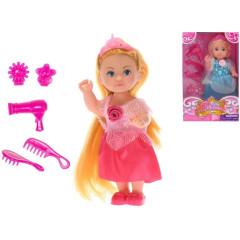 Panenka princezna 12cm s doplňky