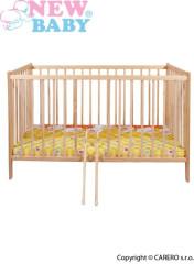 Dětská postýlka New Baby Dominic - přírodní