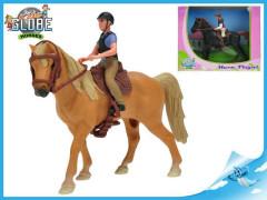 Koník s jezdcem POŠKOZENÝ OBAL