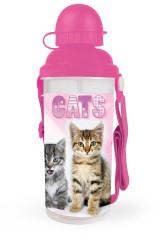 Láhev na pití Kočka 650 ml