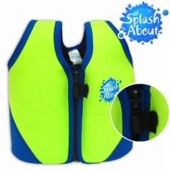 Dětská plavací vesta zelenomodrá
