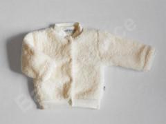 Zimní kabátek wellsoft smetanový Baby Service