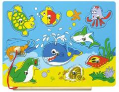 Vkládačka rybolov moře