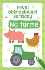 Kniha První obkreslovací kartičky –  Na farmě