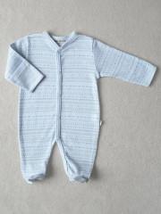 Overálek celorozepínací LLLL Modrý Baby Service