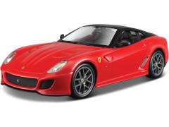 Bburago Ferrari 599 GTO červená 1:24