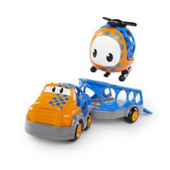 Hračka autíčko nákladní s helikoptérou Go Grippers™ 18m+