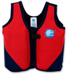 Dětská plavací vesta MODROČERVENÁ