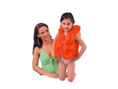 Nafukovací dětská vesta deluxe 3 - 6let Intex