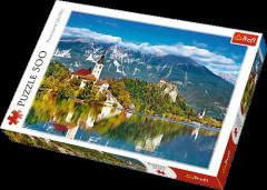 Puzzle Trefl Bled Slovenia 500 dílků 48x34cm