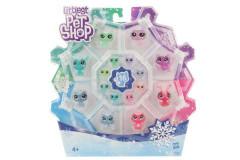 Littlest Pet Shop - Zvířátka z ledového království 16 ks