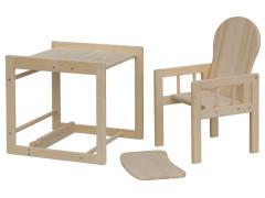 Jídelní dřevěná židlička Scarlett ECO - Přírodní