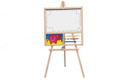 Tabule školní i pro psaní na fólii s počítadlem a hodinami