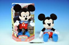 Mickey Mouse Kiss Kiss plyšový 32cm na baterie se zvukem