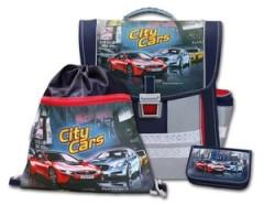 Školní aktovkový set City Cars 3-dílný Emipo
