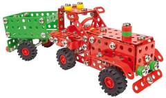 Malý konstruktér - Traktor s přívěsem 299 dílků