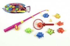 Hra ryby/rybář s prutem 40cm