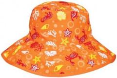 Dětský UV klobouček Baby Banz moře oranžový 0-2 ROKY