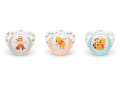 Silikonové šidítko NUK Trendline Disney-Medvídek PÚ (6-18m)
