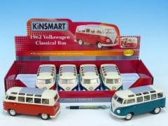Autobus Kinsmart Volkswagen T1 Classical kovový 17 cm