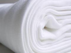 Bavlněné dětské pleny KIKKO 80x80 - bílá 10 ks