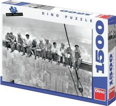 Puzzle Dělníci na traverze 84x60cm 1500 dílků