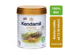 Kendamil Organické/BIO kojenecké mléko 3 pokračovací 800 g
