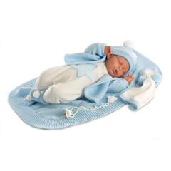 Panenka - New Born spící chlapeček  42 cm