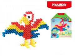 Mozaika vodní perly 200ks papoušek plast