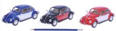 Auto Kinsmart VW Classical Beetle 1967 kov 17cm