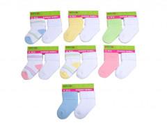 Kojenecké ponožky froté PD116 (12 - 18 měs.) 2 páry Pidilidi