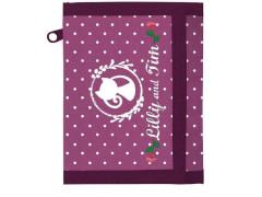Dětská textilní peněženka Lilly