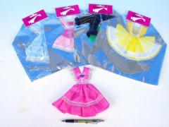 Šaty pro panenky jako je Barbie a podobně velké