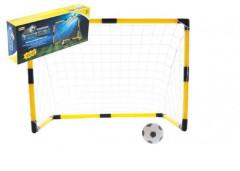 Fotbalová branka 84x54x42cm s míčkem a pumpičkou v krabici 42x18,5x8cm