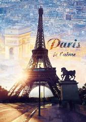 Puzzle Trefl Paříž za svítání 1000 dílků 48x68,3cm