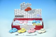Auto Kinsmart VW Classical Beetle 1967 1:64 kov 6 cm