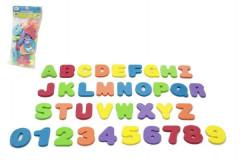 Pěnová písmena a číslice do vany 36ks