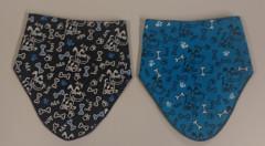 Bavlněný nákrčník - šátek na suchý zip PEJSCI RDX