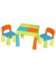 Dětská sada stoleček a dvě židličky multicolor