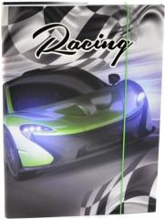 Desky na sešity Heft box A4 Junior auto Racing