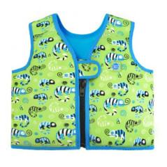 Plovací vesta Go Splash - ještěrka