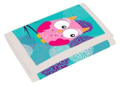 Dětská textilní peněženka Sova NEW 2017