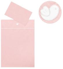 Dětské povlečení 2dílné Bird Pink 130 x 90 cm ČR