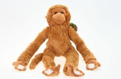 Plyš Opice velká s možností nosit na krku