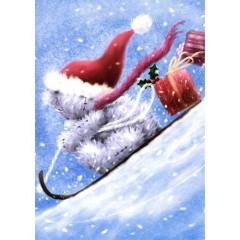 Blahopřání Me to You vánoční - Pro mého úžasného přítele