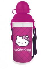 Láhev na pití plastová Hello Kitty 650 ml 2014