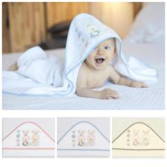 Dětská osuška froté 100 x 100 cm BABY Interbaby v dárkovém balení