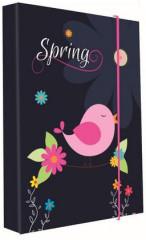 Desky na sešity Heft box A4 Premium Spring