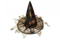 Klobouk čarodějnický s třásněmi